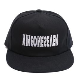 CALLME917 CALLME917 CYBER LOGOTYPE HAT BLACK