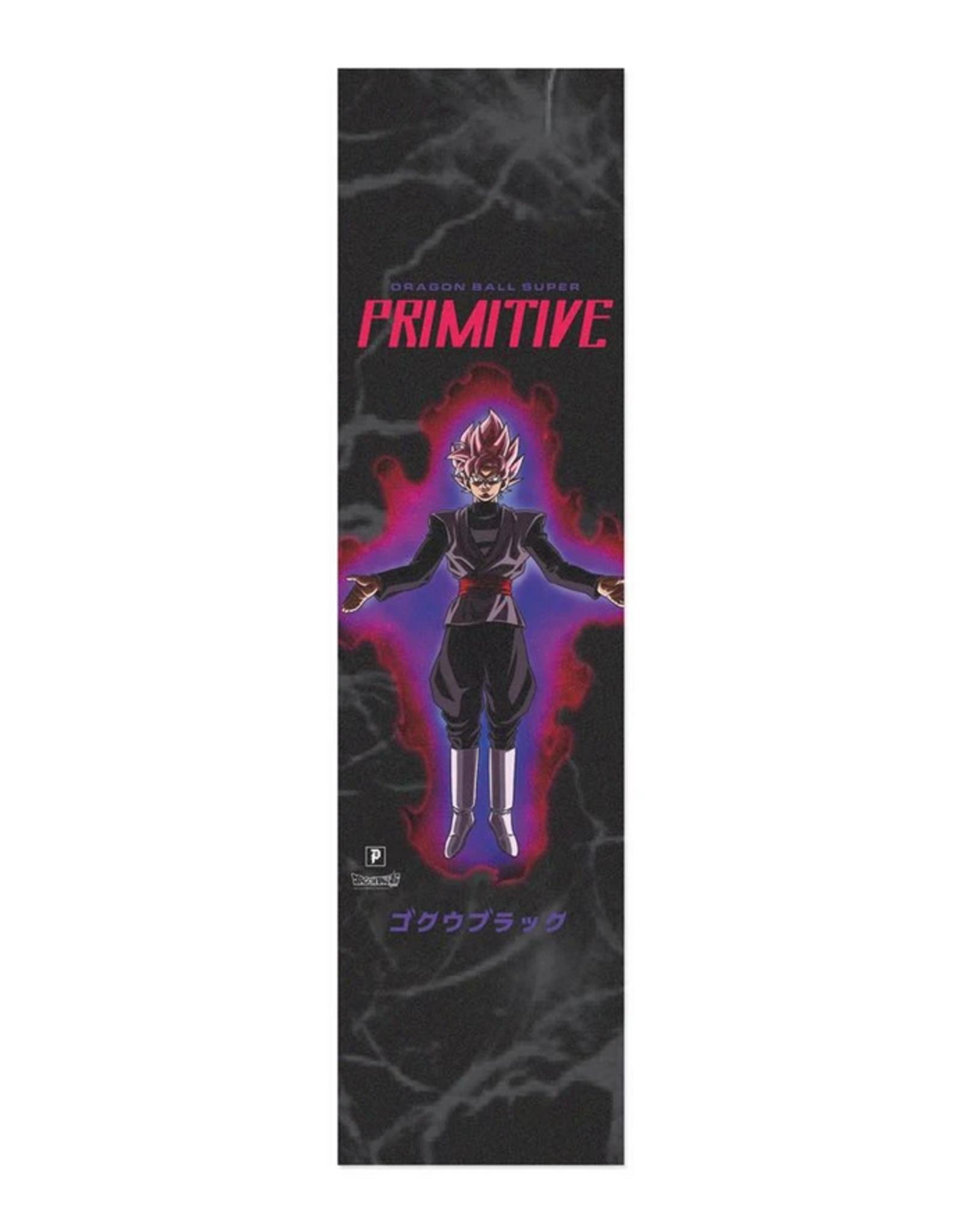 "PRIMITIVE PRIMITIVE DBZ GOKU BLACK ROSE GRIPTAPE 9"""
