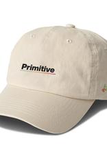 PRIMITIVE PRIMITIVE GAMMA STRAPBACK HAT CREAM
