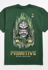 PRIMITIVE PRIMITIVE DOOM TEE FOREST GREEN