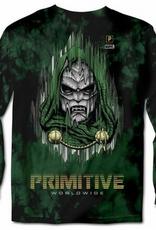 PRIMITIVE PRIMITIVE DOOM L/S TEE FOREST GREEN