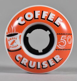 SML SML 50MM 78A COFFEE CRUISERS CHARCOAL WHEELS