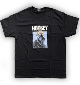 HOCKEY HOCKEY CHAPERONE TEE BLACK