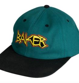 BAKER BAKER DAGGER HAT TEAL SNAPBACK