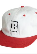 BAKER BAKER CAPITAL B SNAPBACK HAT WHITE