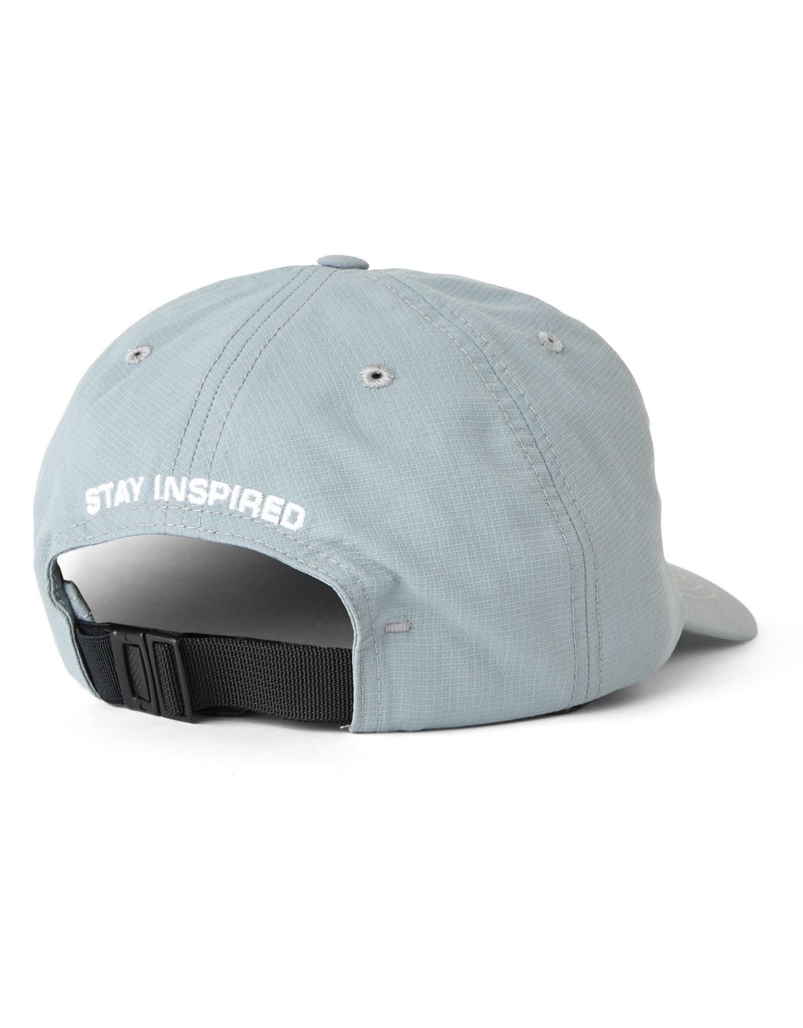 POLAR POLAR LIGHTWEIGHT CAP CLIPBACK HAT SILVER GREY