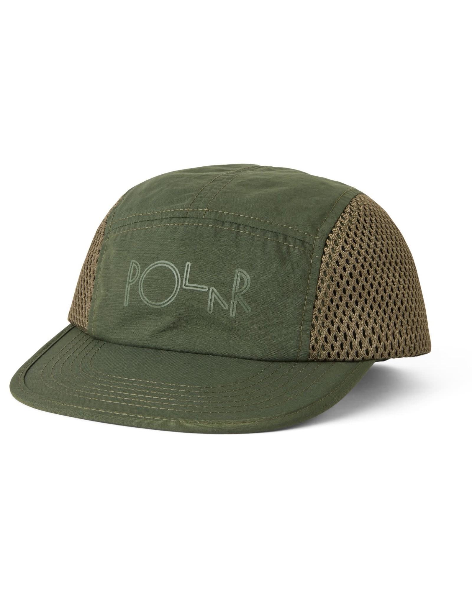 POLAR POLAR MESH SPEED CAP OLIVE GREEN HAT