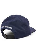 POLAR POLAR LIGHTWEIGHT CAP CLIPBACK HAT NAVY BLUE