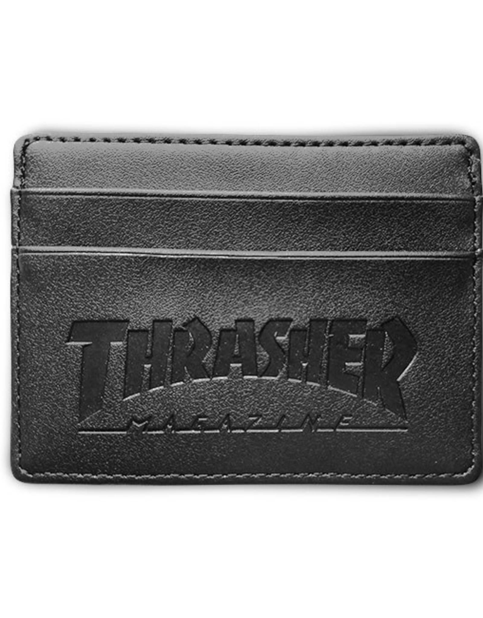 THRASHER THRASHER LEATHER CARD WALLET