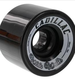 CADILLAC CRUISER CADILLAC CRUISER 59MM WHITE WALL LONGBOARD WHEELS 78A BLACK