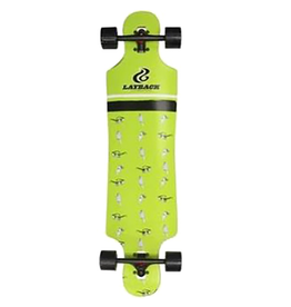 """LAYBACK LAYBACK ICE CREAM DT COMPLETE LONGBOARD 9.5"""" X 40"""" GREEN"""