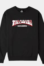 THRASHER THRASHER FIRME CREWNECK SWETSHIRT BLACK