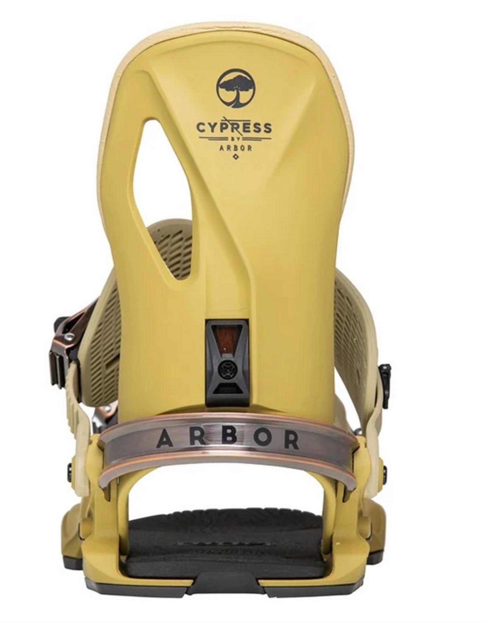 ARBOR ARBOR 2022 CYPRESS SNOWBOARD BINDINGS DRIED TOBACCO