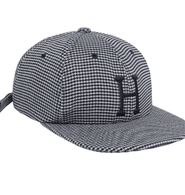 HUF HUF CLASSIC H HOUNDSTOOTH 6 PANEL HAT