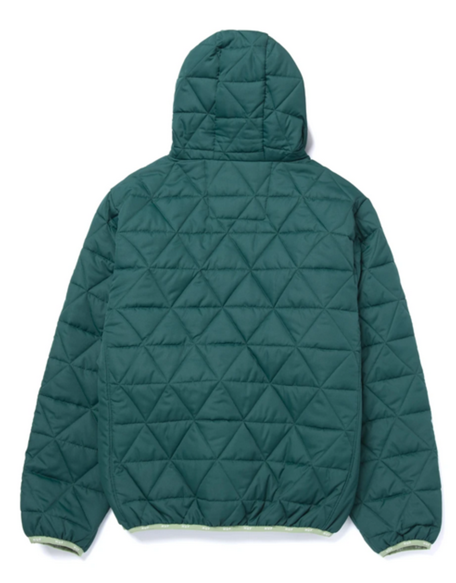 HUF HUF POLYGON QUILTED JACKET SYCAMORE