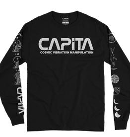 CAPITA CAPITA VISUALIZE 2 L/S TEE BLACK