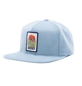 HOCKEY HOCKEY CORDUROY ARIA SNAPBACK HAT LIGHT BLUE