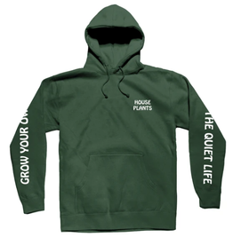 THE QUIET LIFE THE QUIET LIFE HOUSE PLANTS HOODIE FOREST GREEN