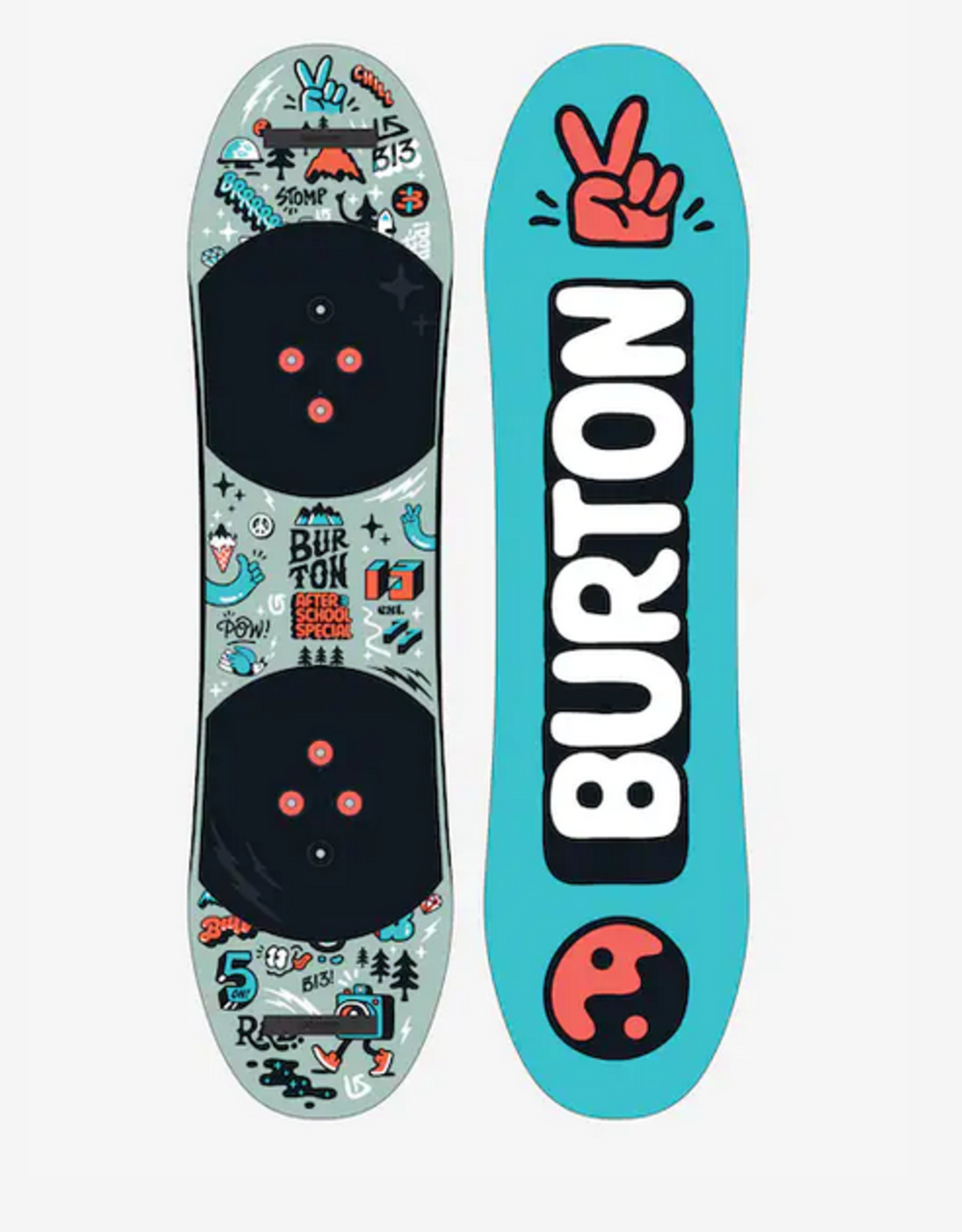BURTON BURTON 2022 AFTER SCHOOL SPECIAL YOUTH KIDS SNOWBOARD PACKAGE W/BINDINGS