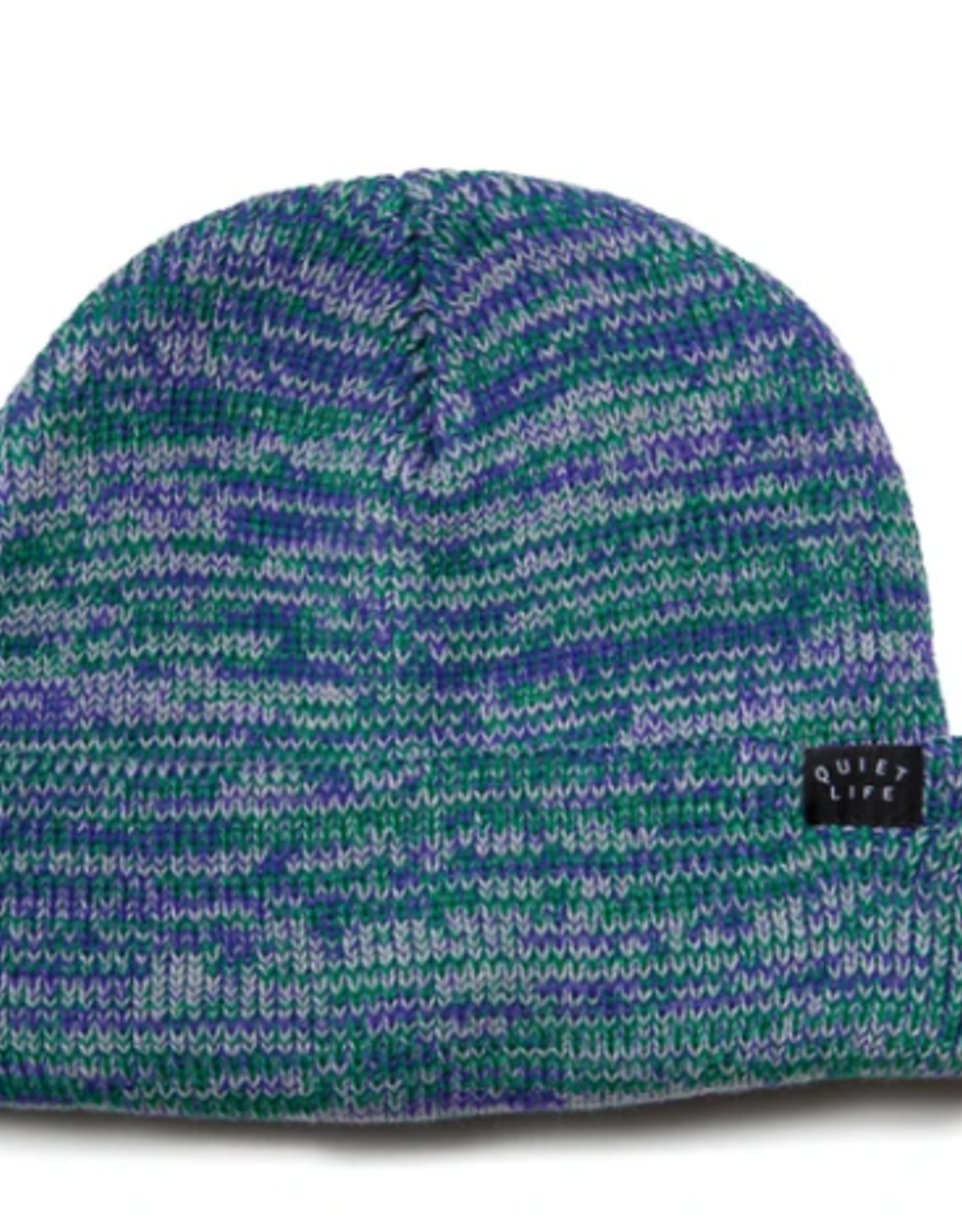 THE QUIET LIFE THE QUIET LIFE SPECKLE BEANIE GREEN PURPLE