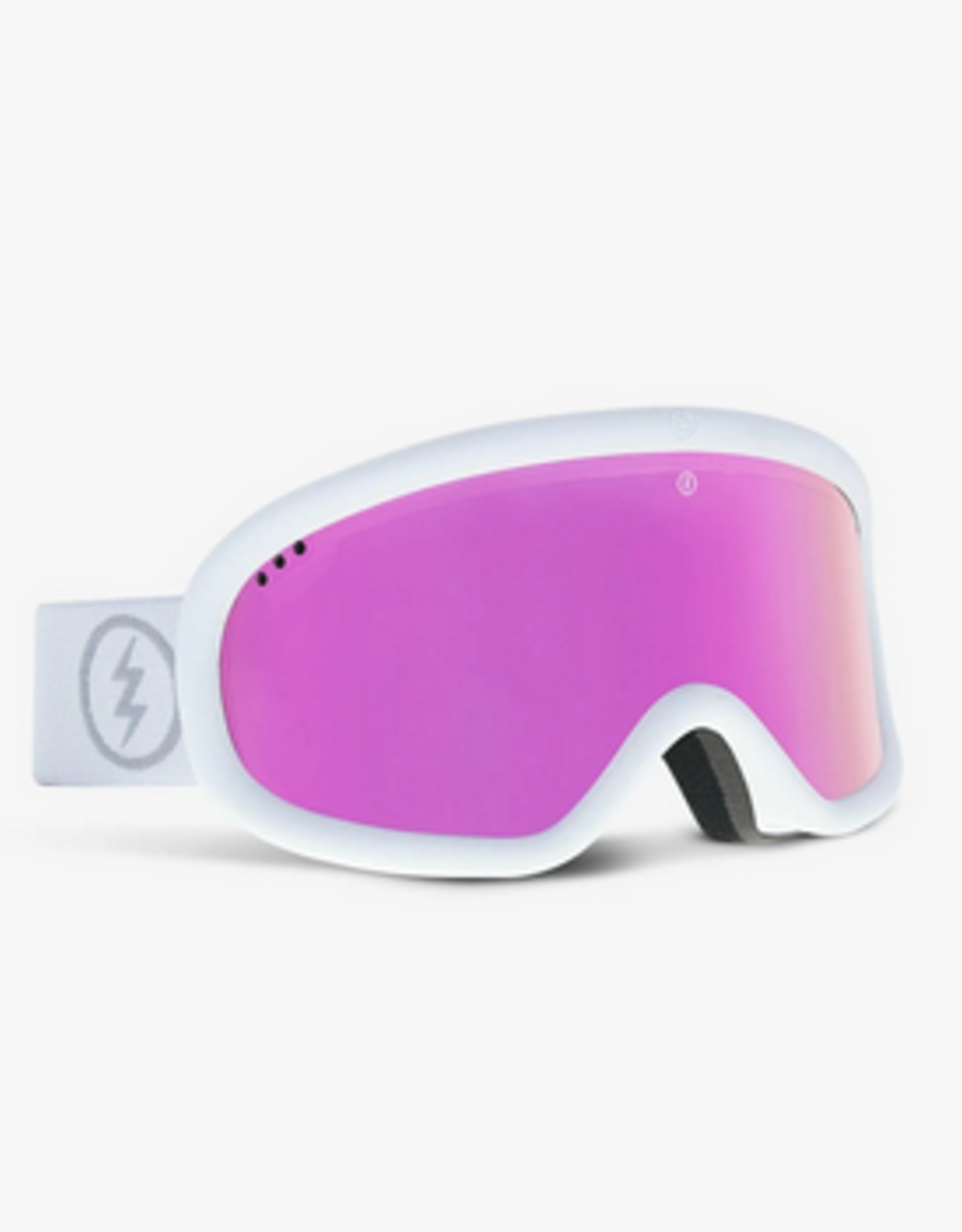 ELECTRIC ELECTRIC 2022 CHARGER GOGGLE MATTE WHITE PURPLE CHROME