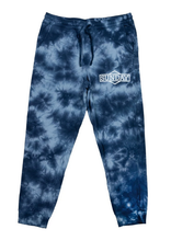 SUNDAY SUNDAY CORNERSTONE SWEAT PANTS TIE DYE BLUE