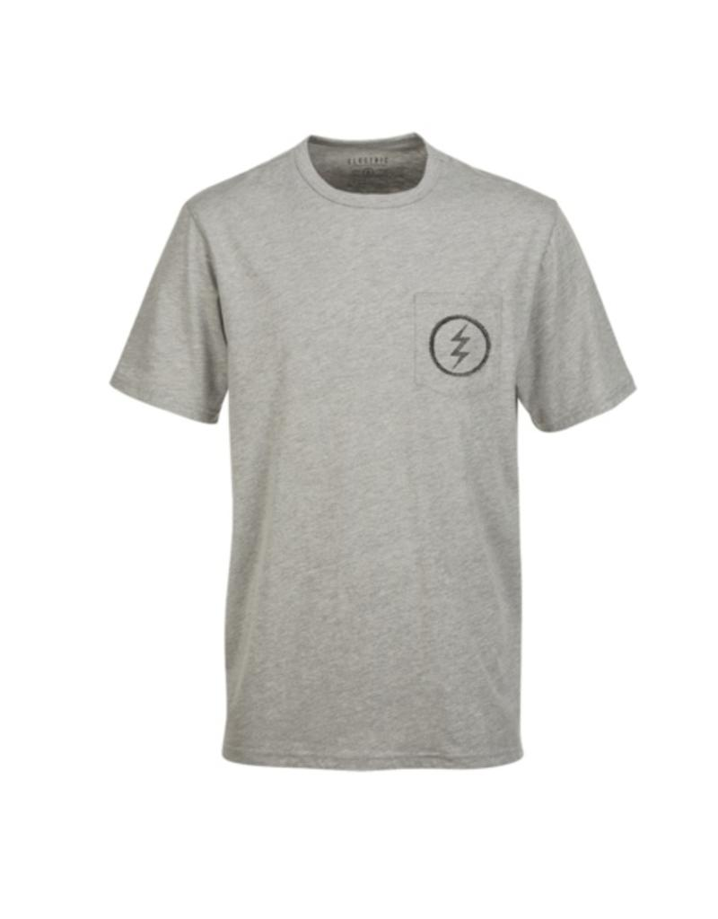 ELECTRIC ELECTRIC STIPPLED POCKET TEE