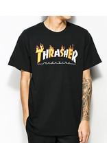 THRASHER THRASHER FLAME&MAG TEE