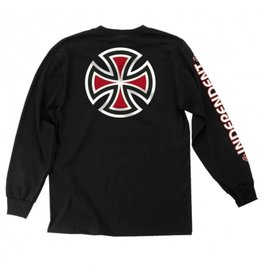 INDY INDEPENDENT BAR CROSS LS TEE