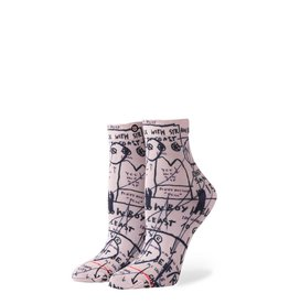 STANCE W STANCE MOSTLY OLD LADIES SOCK WHITE