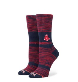 STANCE STANCE MENS RED SOX CLASSIC CREW SOCK RED