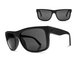 ELECTRIC ELECTRIC SWINGARM MATTE BLACK/OHM POLARIZED GREY