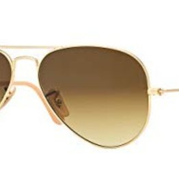 RAY BAN RAY BAN RB3025 LARGE AVIATOR MATTE GOLD