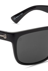 ELECTRIC KNOXVILLE GLOSS BLK/ OHM POLARIZED GREY