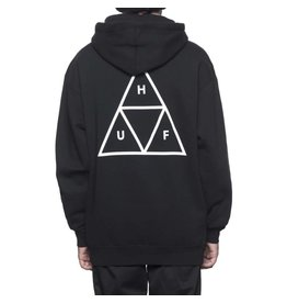 HUF HUF TRIANGLE PULLOVER HOODIE BLACK