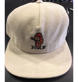 HUF HUF CASE CLOSED STRAPBACK HAT