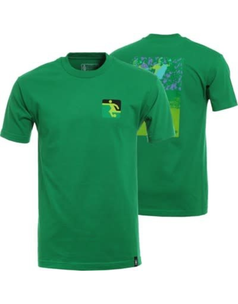 GIRL GIRLFUTBOL TEE GREEN