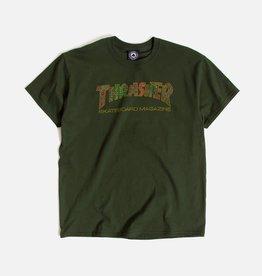 THRASHER THRASHER DAVIS TEE GREEN