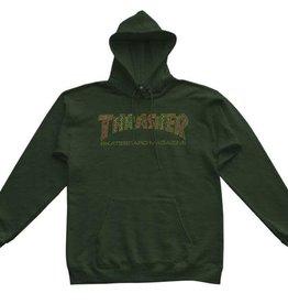 THRASHER THRASHER DAVIS PULLOVER HOODIE GREEN