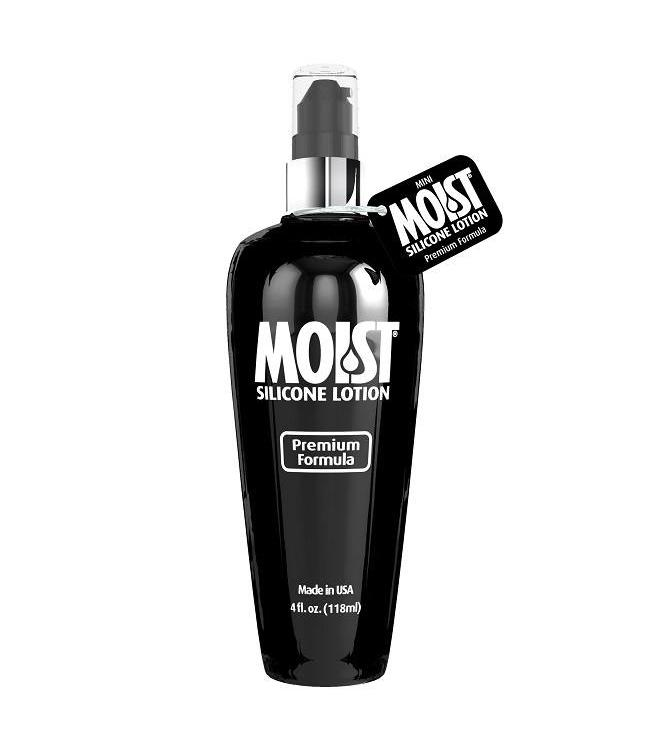 Moist Silicone Lotion Silicone-Based Lubricant 4oz