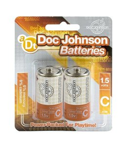 Doc Johnson C Size Battery 2 Pack