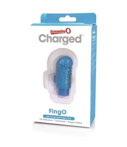 Screaming O Screaming O Charged - Fingo Rechargeable Vibrator