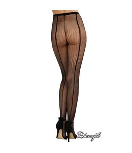 "Dreamgirl ""Barcelona"" Fishnet Pantyhose OS"