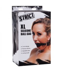 "Strict Strict XL 2"" Silicone Ball Gag"