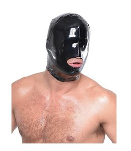 Fetish Fantasy Series Fetish Fantasy Series Wet Look Open Mouth Hood For Him