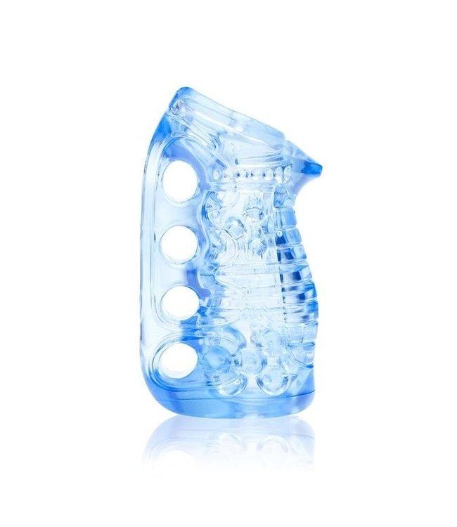 Fleshlight Fleshskins Grip Blue Ice in Case