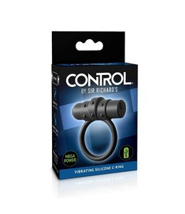 CONTROL by Sir Richard's Vibrating Silicone C-Ring