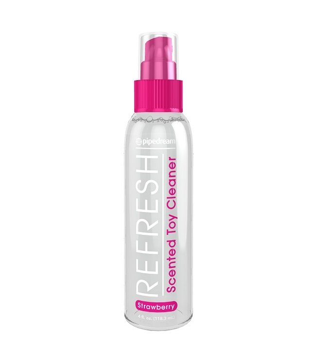 Refresh Strawberry Scented Toy Cleaner 4oz