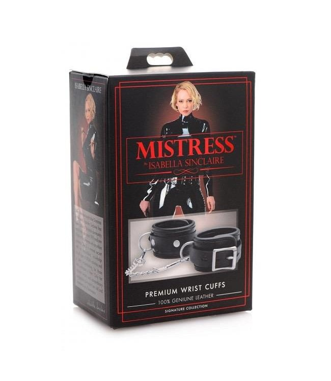 Mistress by Isabella Sinclaire Isabella Sinclaire Premium Leather Wrist Cuffs