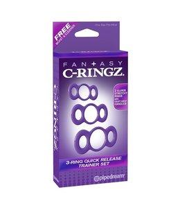 Fantasy C-Ringz Fantasy C-Ringz 3-Ring Quick Release Trainer Set